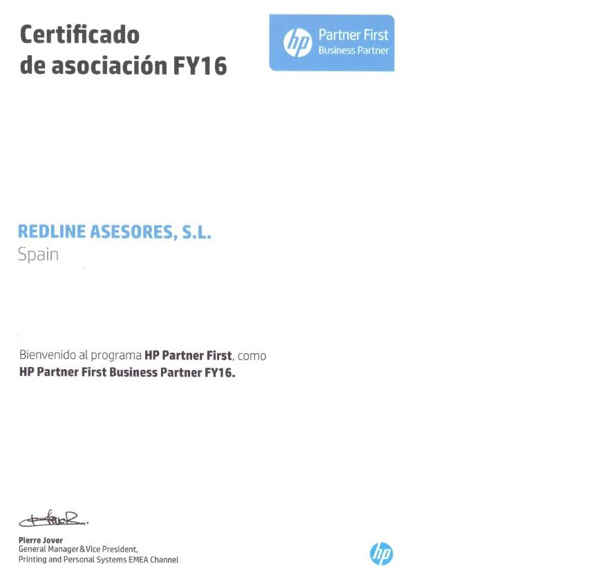 certificado hp